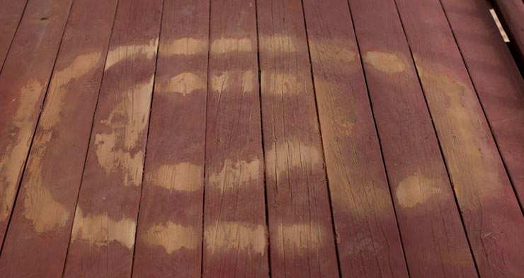 best paint remover for wood deck